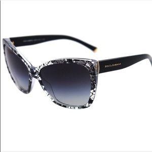 0da38e4d889b Dolce & Gabbana Accessories - Dolce & Gabbana GUC Black Lace Sunglasses DG  4111
